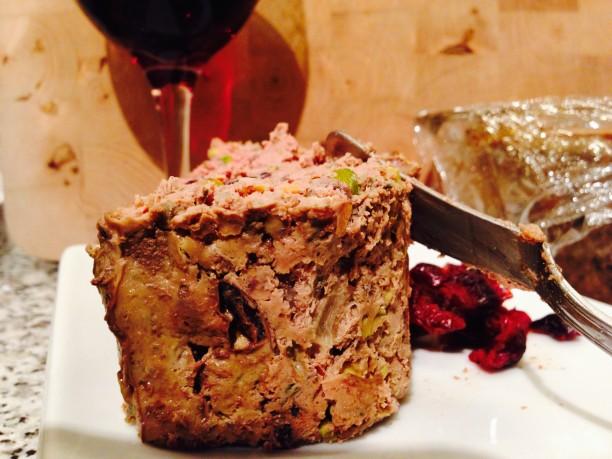 Beef Liver Pistachio Terrine